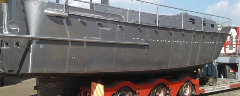 Nieuwbouwcasco Luna 37 met railingwerk TBS